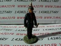 SOLDAT plomb DEL PRADO 1/32 POMPIERS /MONDE Allemagne officier tenue 19°s n°27