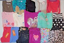 NWT Girls Fall Clothing Lot Size 7 7/8 Outfits Tops Jeans Pants Skirts Sweater