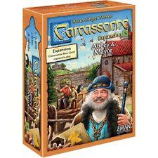 Carcassonne Abbey & Mayor Expansion #5 Board Z-Man Games ZMG 78105 Tile