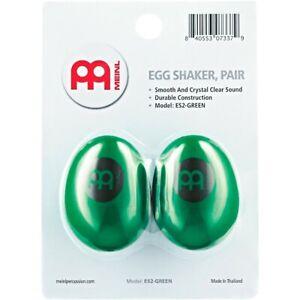 Meinl Egg Shaker (Pair) Green