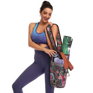 FT- Yoga Mat Bag Carrier Strap Shoulder Sling Gym Tote Carry Exercise Bag Charm