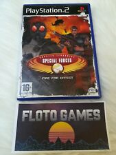 Jeu CT Special Forces Fire Effect Playstation 2 PS2 PAL Complet - Floto Games