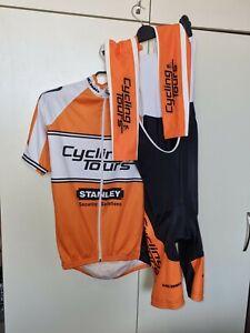 SMS Santini Cycling Set Jersey/ Bib Shorts/ arm warmer  XL
