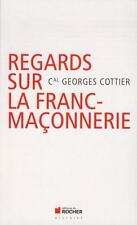regards sur la franc-maçonnerie Cottier  Georges Occasion Livre