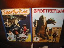 LOT ALBUMS NEUFS VIDES SAN KU KAI 1979 + SPECTREMAM 1982  AGE STYLE PANINI