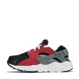 Nike Huarache Run Infants Toddler Trainers Shoes Black Grey