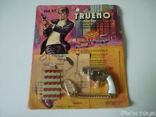 Porte clé Key Chain Gun Trueno Redondo Shooting die cast metal miniature [NEUF]