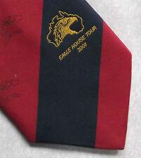 Eagle CASA TOUR 2001 Australia Sport Rugby Rosso Navy valore a righe 2000s Retrò