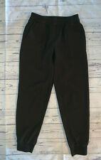 ANN TAYLOR Women's Black Pull-On Elastic Waist Dressy Jogger Pants Size XS