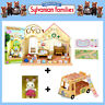 NEW SYLVANIAN FAMILIES FOREST NUSERY GIFT SET with SCHOOL BUS & CHOC RABBIT BABY