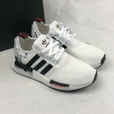 adidas Originals NMD_R1 Sneakers FW7688 White/Black/Signal Coral