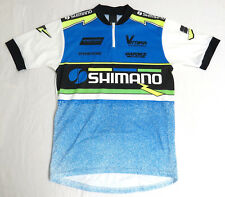 vtg SHIMANO VITTORIA 90s Cycling Jersey MED ST Cyclewear DT Swiss Spokes Gatorz