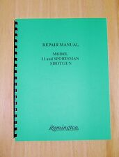 Remington Model 11 and Sportsman Shotgun Field Service / Repair Manual - #65