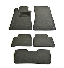 Mercedes-Benz W211 2002-2009 Fully Tailored Classic Carpeted Car Floor Mats Grey