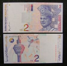 Malaysia Banknote 2 Ringgit 1996-1999 UNC