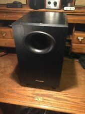 Pioneer S-W20 8-inch Powered Subwoofer