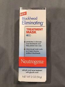 Neutrogena Blackhead Eliminating Treatment Mask Salicylic Acid Acne Glycolic NEW