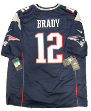 New Tom Brady XL Mens New England Patriot Super Bowl 53 Nike Screen Game Jersey