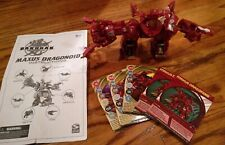 Bakugan Maxus Dragonoid Red Battle Brawlers 7 in 1 Spin Master