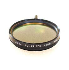 49mm Canon POLARIZING Filter - Linear Polarizer - NEW
