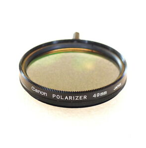 49mm Canon POLARIZING Filter - Linear Polarizer - NEW