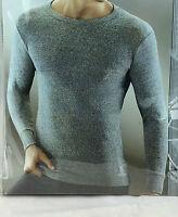 Carlo Colucci Herren Thermo-Shirt Langarm  100% baumwolle Größe L
