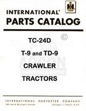 International T-9 & Td-9 Crawler Part Catalog Manual