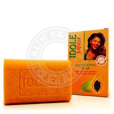 IDOLE Papaya ACNE Skin Exfoliating Lightening Whitening Soap Jabon Exfoliante