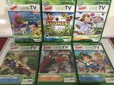 Leapfrog Leap Tv Games Lot