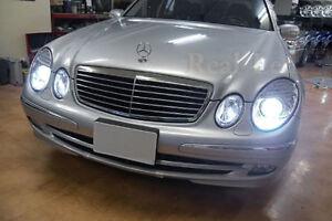 Pair D2S Bulbs Xenon Hid White 5000K Low Beam Mercedes W211 E Class 2002-2006