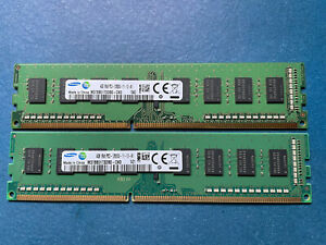 8GB 2X4GB DDR3 PC3-12800U Desktop Memory RAM