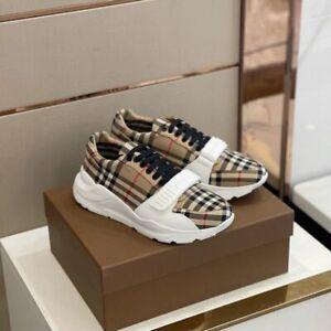 Burberry Men's Sneakers Beige/White US 8/EUR 41/UK 7