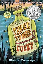 Three Times Lucky (Mo & Dale Mysteries) by Turnage, Sheila Book The Cheap Fast