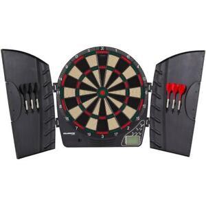 Electronic Dart Board Arachnid Cabinet Door Set Kit Indoor Game Party Adult Fun