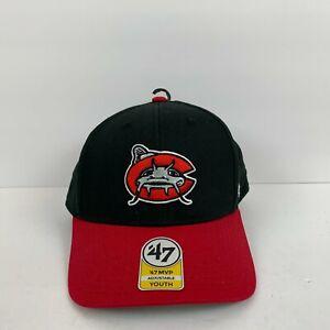 New 47 Brand Carolina Mudcats Snapback Hat MILB Milwaukee Brewers Youth