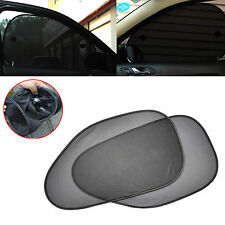 2Pcs Car Auto Side Rear Window Sun Shade Cover Shield Sunshade UV Protection New