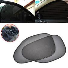2Pcs Car Auto Side Rear Window Sun Shade Cover Shield Sunshade UV Protection New