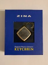 Zina Digital Photo Viewer Keychains NIB