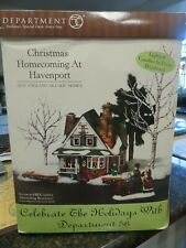 Department 56 Christmas Homecoming at Havenport New England Village Series