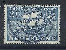 Pays-Bas N°266 Obl (FU) 1934 - Port de Willemstad