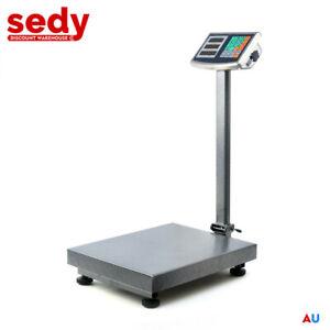 NEW 300KG Electronic Digital Platform Scale Postal Shop Scale Weight Rechargable