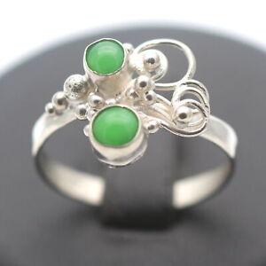 Ring 925 Sterling Silber mit Farbstein Wert 32,-