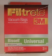 Filtrete 3M Bissell Universal Micro Allergen Vacuum Bags, 3 Ct 66707A / 66707Q