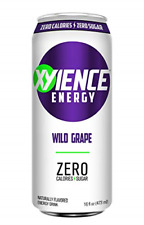 XYIENCE Energy Drink   Wild Grape   Sugar Free   Zero Calories   Natural Flavors