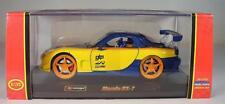 Bburago 1/32 Mazda RX 7 gelb/blau OVP #2680