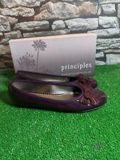 principles Ghost Purple Ballerina Flat Shoes Size UK 5 EU38 New Free P&P
