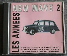 Les années New Wave 2, soft cell blondie siouxsie ultravox  ect,  CD