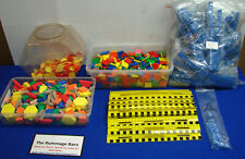 huge lot! MATH MANIPULATIVES blocks counters rulers SCHOOL DAYCARE educational