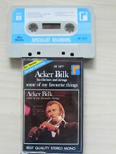 "Acker Bilk ""SOME OF MY FAVORITE THINGS"" CASSETTE, RARE DBX SPECIALIST RECORDING"