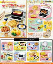 "Re-ment Petit sample series ""Today's meal"" Miniature Figures Full set 8 packs"